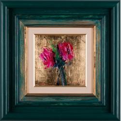 Roze - pictură în ulei pe pânză