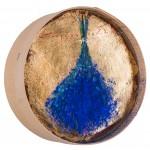 Lăvănțică - pictură în ulei pe sită