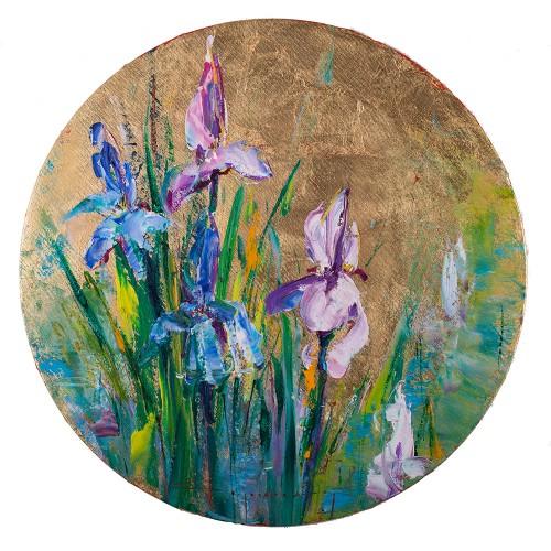 Irisul - pictură în ulei pe pânză