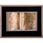 Cartea - pictură în ulei pe carte