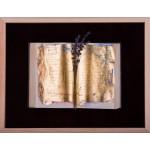 Semn de carte - pictură în ulei pe carte